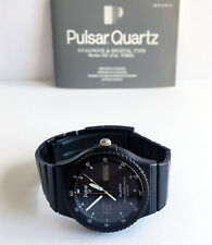 Montre PULSAR by SEIKO - 1985 - Ref. Y960-6017 - Cal. Y960 - Black Edition