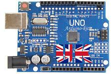 UNO R3 Arduino Compatible MEGA328P ATMEGA16U2 Development Board Unsoldered Kit