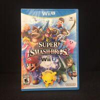 Super Smash Bros. for Wii U  (Nintendo Wii U, 2014) In Stock !!