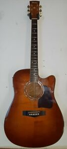 Ibanez AW200ECE Exotic Wood Flamed Acoustic Electric Guitar w PRO SETUP