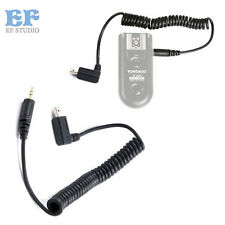 Yongnuo RF-603 MC-36R Shutter Release Cable Remote Cable N2 for Nikon D70S D80
