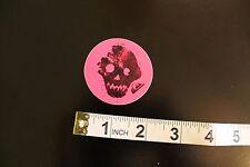 QUIKSILVER Skull Pink Logo Surfboards Quicksliver Vintage Surfing Decal STICKER