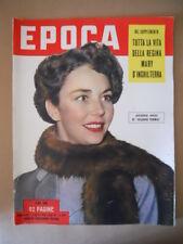 EPOCA n°130 1953 Tutta la vita della Regina Mary d' Inghilterra Speciale [G774]