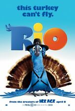 RIO 27X41 AUTHENTIC DOUBLE SIDED OFFICIAL THEATRE POSTER