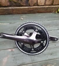 Shimano 105 5600 Series Double 10 Speed Chainset,  53/39T, 175mm Length, Used