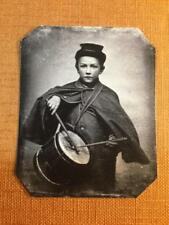 Civil War Drummer By 1865 Historical tintype C1239RP