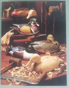"On a Winter Afternoon 500 pc Jigsaw Puzzle Springbok/Hallmark 18"" x 23.5"" Duck"