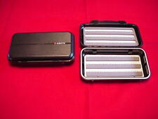 Hardy Greys GS Large Waterproof Fly Box Black GREAT NEW