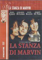 DVD El Cuarto Por Marvin Con M.Streep Dicaprio D. Keaton R. De Niro Nuevo 1997