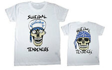 Suicidal Tendencies - Old School Skull Flip Up Hat - T Shirt (Size: Sm-2XL)