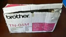 Brother TN04M Magenta Toner Cartridge TN04 Genuine New