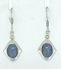 Ohrringe Opal  925er Silber