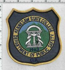 GEORGIA STATE PATROL DEPARTMENT OF PUBLIC SAFETY K-9 UNIT SHOULDER PATCH GREEN