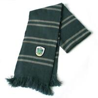 Harry Potter Slytherin Thicken Wool Knit Scarf Wrap Soft Warm Costume Cosplay @M