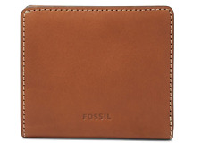 Fossil Emma RFID Mini Leather Wallet Brown RRP £45