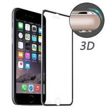Apple iPhone 8 Panzerfolie Echtglas Displayschutz 0.20 mm 3D Full Size schwarz