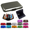Business ID Credit Card Holder Wallet Pocket Case Aluminum Metal Anti RFID Cover