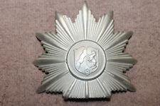 Original & Obsolete Pre WW2 German Police Westfalen Shako Front Plate w/Posts