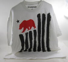 New Conomix 100% Cotton Tee - red bear black stripes Size Xl *