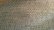 "Surya Rock 5' x 7'6"" Hand Woven Leather Rug in Gray"