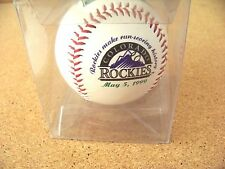 1999 Colorado Rockies baseball ball Rockies make run-scoring history - vs Cubs