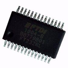 1PCS Original FTDI FT232 FT232RL USB TO SERIAL UART SSOP-28 IC
