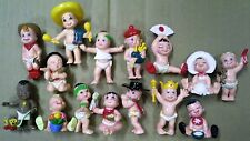 Loose Galoob 1992 Magic diaper 15 babies International Round the world freeship!
