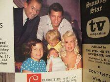 Jun-1961 Washington Evening Star TV Mag(JAYNE MANSFIELD/ED SULLIVAN/DICK SARGENT