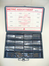 METRIC DOWEL PIN ASSORTMENT 1, 1.5, 2, 2.5, 3, 4, 5, 6, & 8mm DIN 6325, HARDENED