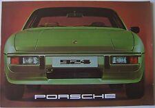 Porsche 924 1976-7 Original UK Market Prestige Sales Brochure Pub. No. 1125.20