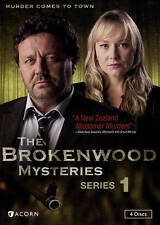 The Brokenwood Mysteries: Series 1 One (DVD, 4-Disc Set) New Free Shipping