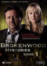 BROKENWOOD MYSTERIES Season 1 DVDs, Region 1, Everything AS NEW