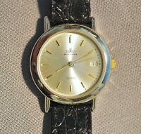 Damen Armbanduhr DAU, Meister Anker, Quarzwerk ETA, Datum, läuft