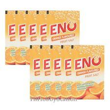 10 ENO Orange Fruit Salt Flavour Relieve Stomachache heartburn relief