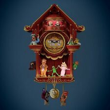 LIMITED EDITION JIM HENSON'S COLLECTIBLE CUCKOO WALL CLOCK -MUPPET MAGIC