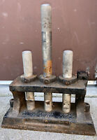Vintage JFD Mfg. Co. Fitting Clamper, Cable Cutter And Cable Swadger