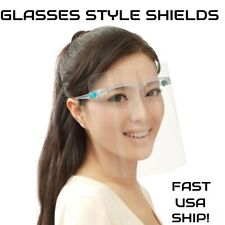Face Shield/Full Protection Cover/Clear or Colored Frame/Protector/Reusable/ Lot