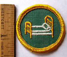 Girl Scout 1963 Cadette HOME NURSE BADGE First Aid Hospital Bed Doctor Patch NEW