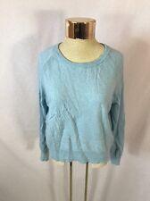 "Women's BANANA REPUBLIC Blue ""Touch Of Cashmere"" Sweater - Sz L"