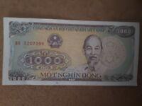 Vietnam: 1000 Dong 1988 UNC