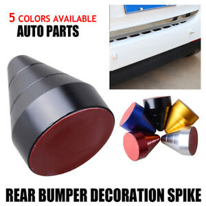 5 Color Universal Bump Protector Spike Guards For Auto Car Front & Rear Bumpers