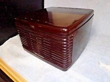 MINTY NICE VINTAGE RCA VICTOR 45-EY-3 PORTABLE WORKING PHONOGRAPH RECORD PLAYER