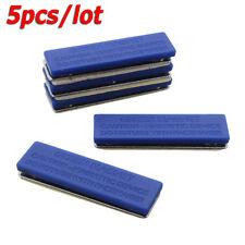 5pcs * Blue Strong Magnetic Name ID Card Tag Holder Badge Fastener Holder