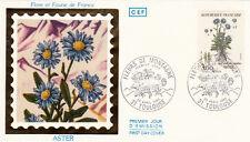 Enveloppe 1er Jour TOULOUSE 23/04/1983 faune et flaure Aster timbrée