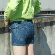 TRUE VINTAGE 80s Hotpants by VEB Templin Jeans Shorts Herren short pants men