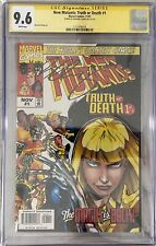 New Mutants: Truth or Death #1 (Nov 1997, Marvel) CGC 9.6 Signed Bernard Chang