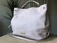 Kate Spade pink moc croc genuine leather medium handbag tote shoulder bag