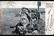 BUENOS AIRES (SARGENTINE) COSTUMBRES de CAMPO / RECUEIL sur TOMBE avant 1904