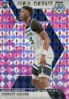 2019-20 Panini Mosaic NBA Debut Pink Camo Prizm Jarrett Culver #263 Rookie