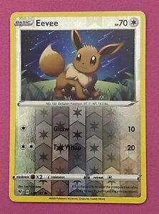 Eevee 130/185 Reverse Holo Vivid Voltage Pokemon Card
